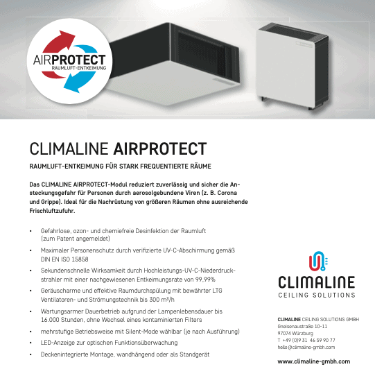 CLIMALINE AIRPROTECT
